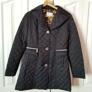 Laundry by Shelli Segal LA 3/4 Quilted Jacket
